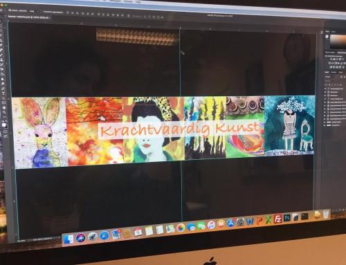 Website Krachtvaardig Kunst